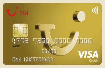 Abbildung TUI CARD Gold (Artikel Reisegepäck)