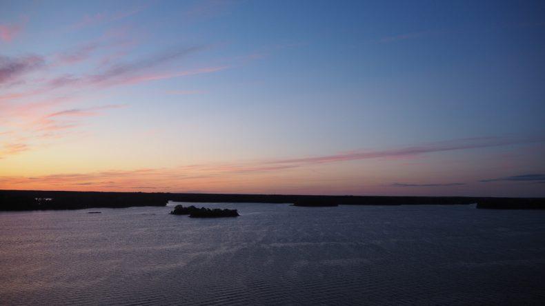 Wenn die Sonne schlafen geht in Schweden