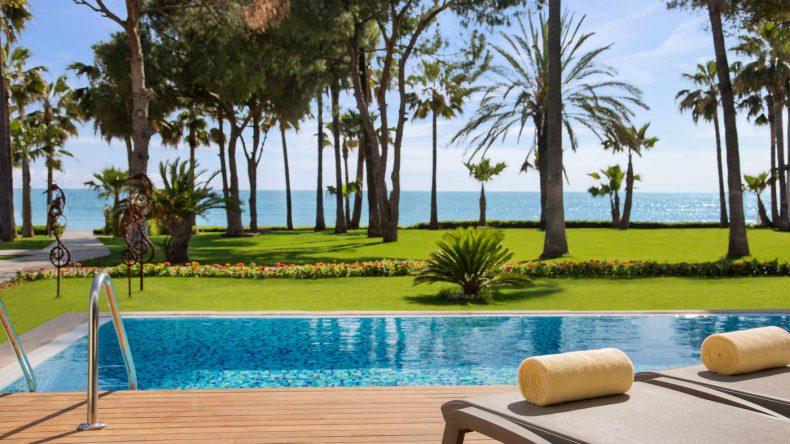 Wer noch mehr Luxus will, sollte ein Zimmer mit Swim Up buchen