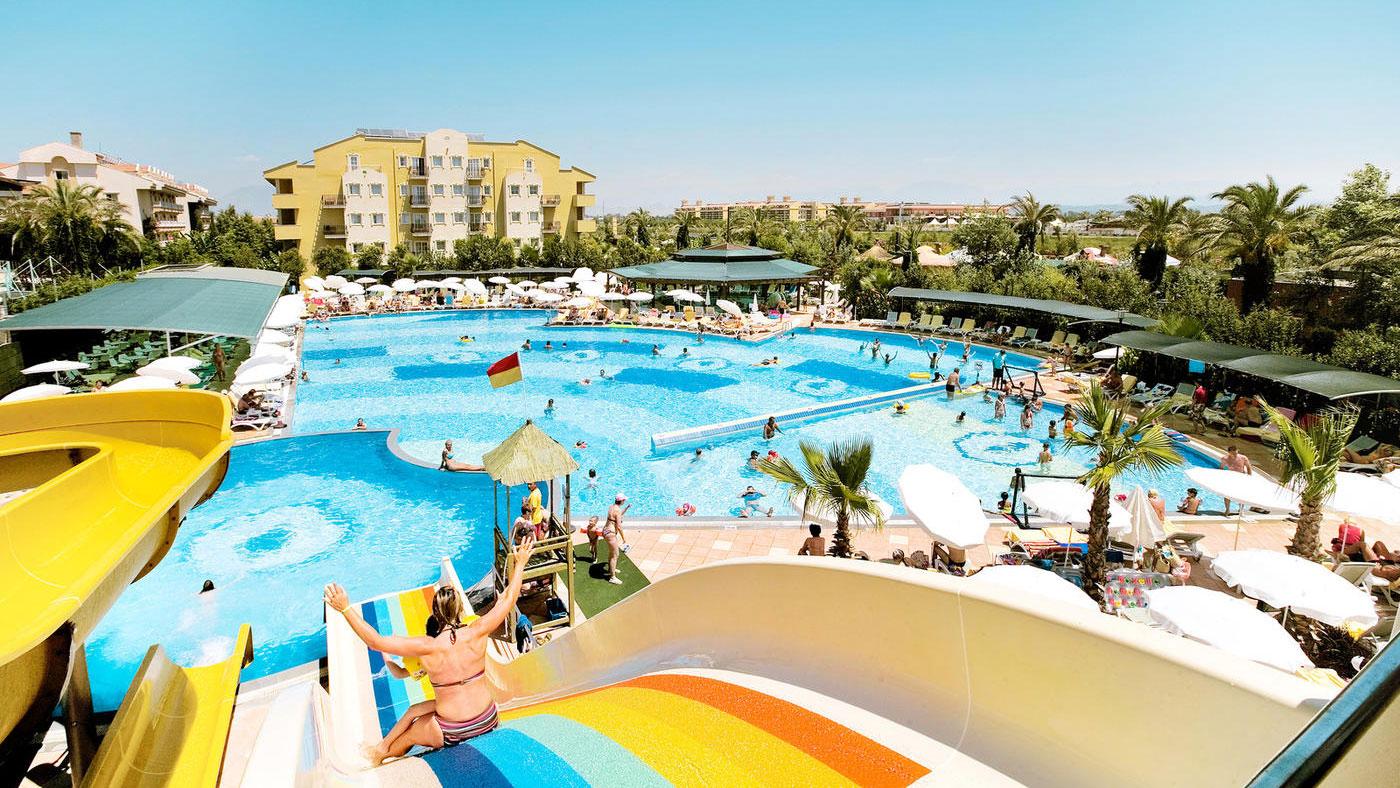Das familienfreundliche best FAMILY Belek Beach Resort bietet große, geräumige Familienzimmer