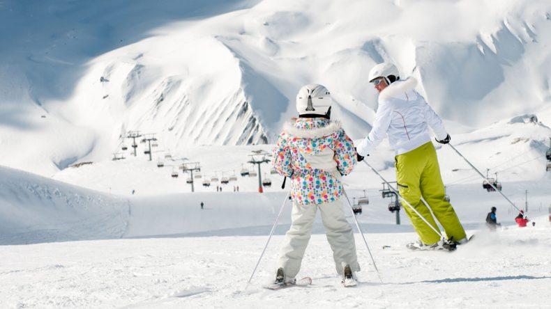 Skiurlaub mit Kindern