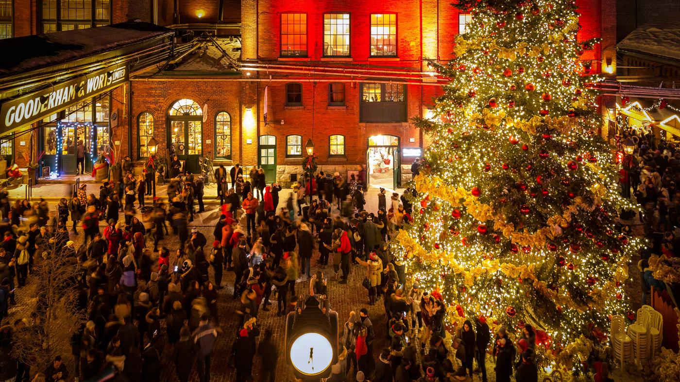 Der Weihnachtsmarkt in Toronto