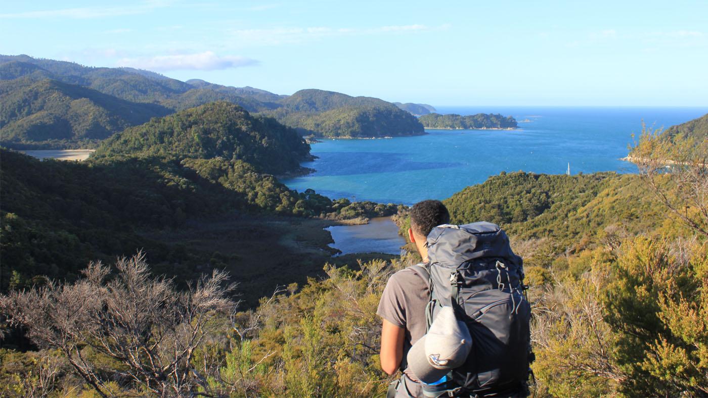 Quer durch den Abel Tasman Nationalpark: Vom südlichen Marahau bis zum nördlichen Whariwharangi legen wir an fünf Tagen knapp 70 km Fußweg zurück.