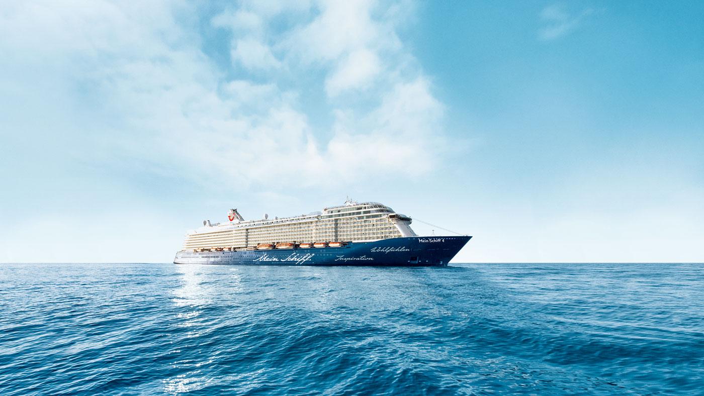 Die Mein Schiff 4 bietet Platz für 2506 Passagiere (© TUI Cruises GmbH Hamburg)
