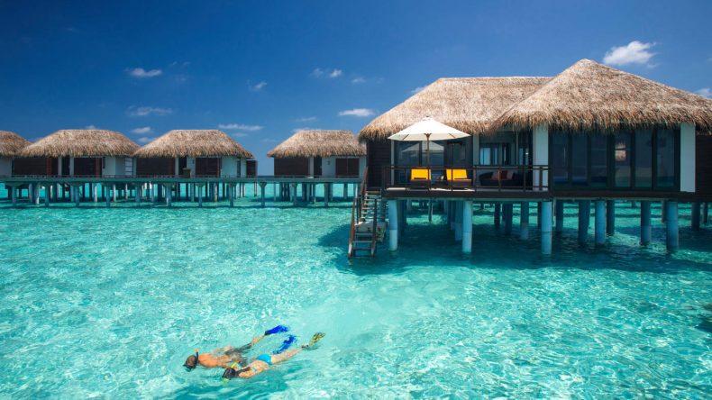 Overwater nächtigen - Ein Traum wird Realität