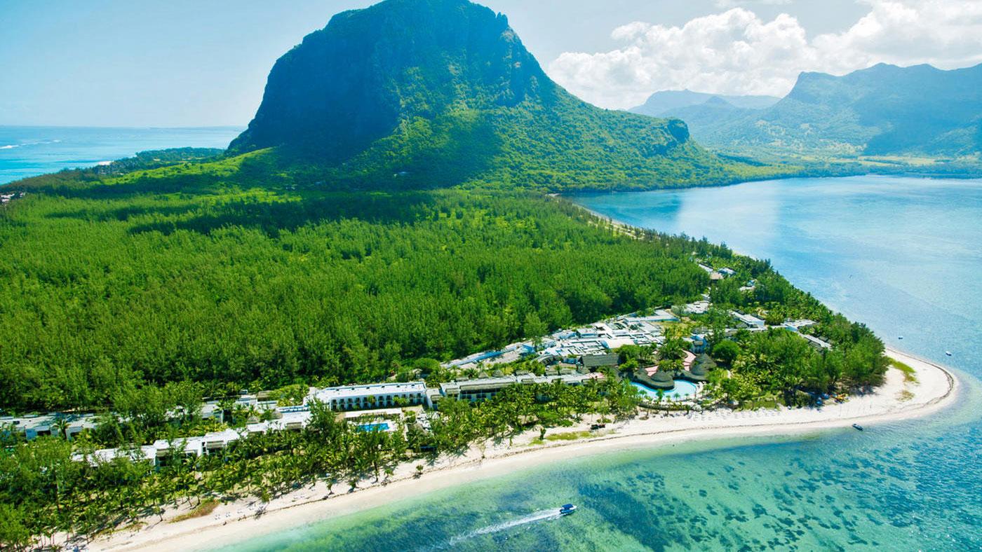 Hier wartet das Naturparadies auf euch. Das Riu Le Morne auf Mauritius