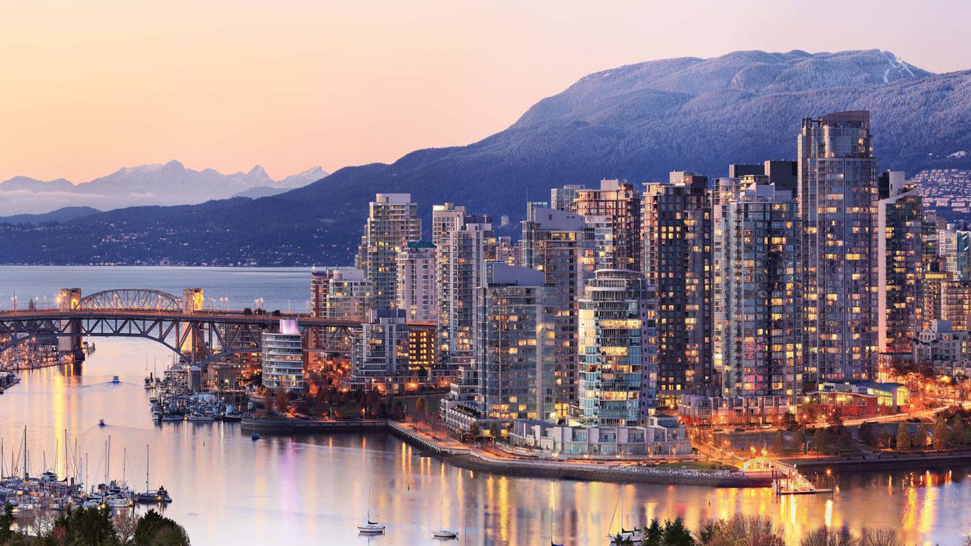 Die beliebte Stadt Vancouver überzeugt mit einer Traumlage