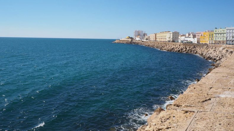 Am Meer in Cadiz