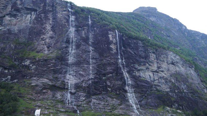 Die berühmten Wasserfälle