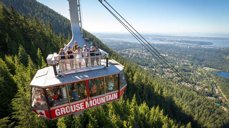 7. Der 1231 Meter hohe Grouse Mountain wird als Gipfel von Vancouver bezeichnet und ist mit der Pendelbahn erreichbar. Unbedingt ein Besuch wert! (Photocredit: www.devinmanky.com)