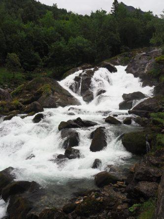 Ein wunderschöner Wasserfälle