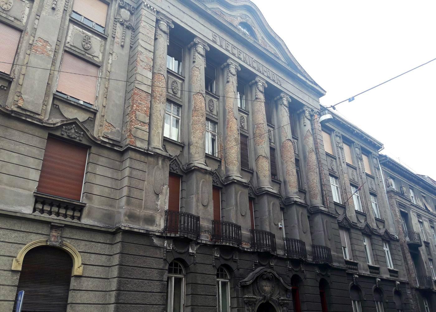 Altes Gebäude in Zagreb
