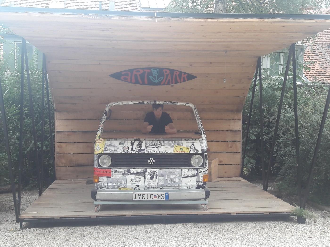 kleinbus kunst art park