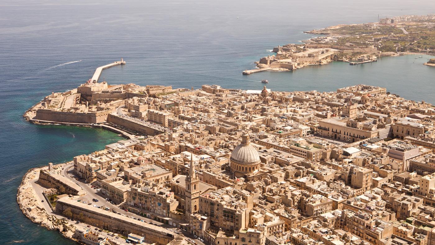 Malta von oben