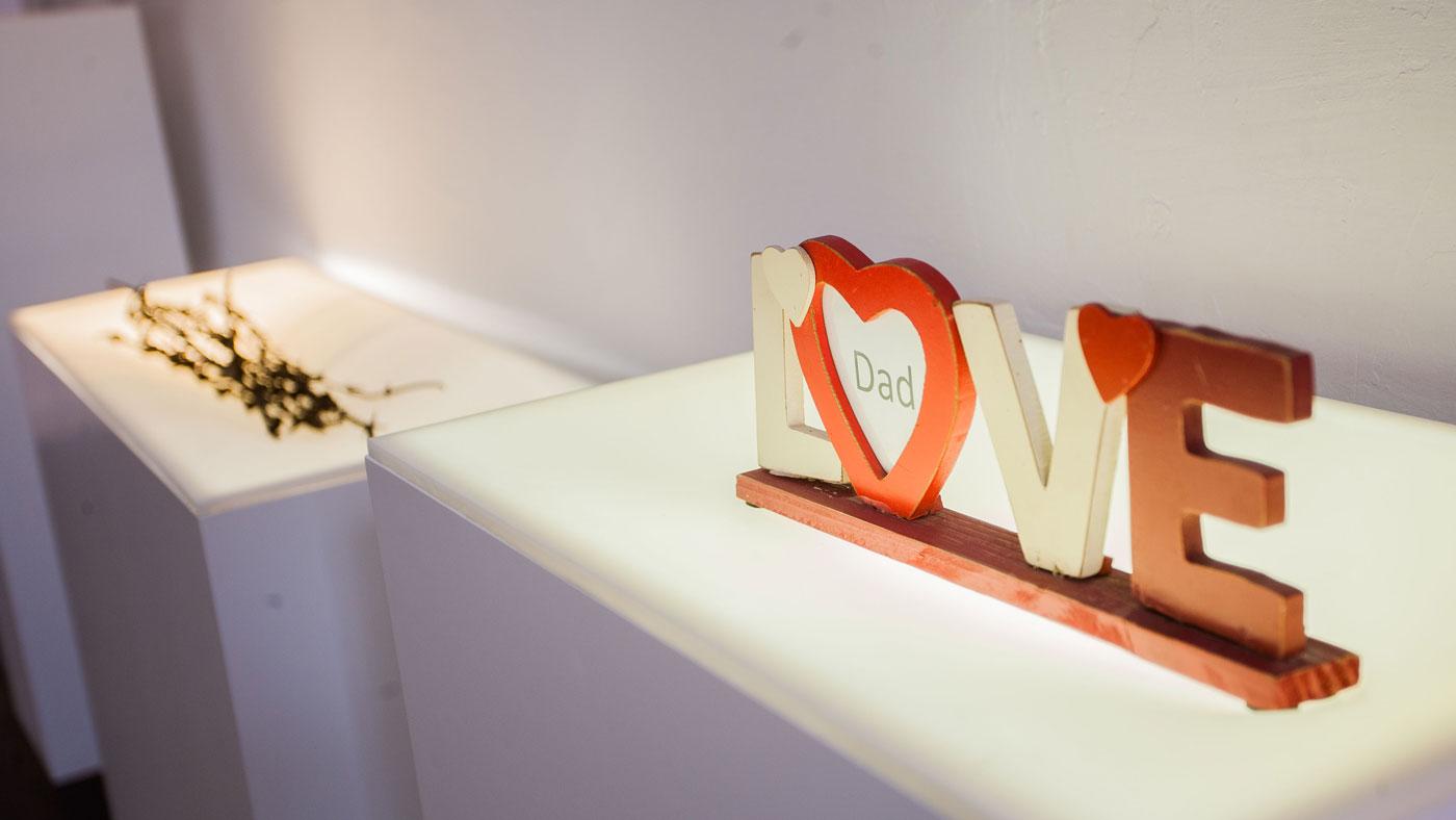 Im Muzej Prekinutih Veza (Museum der zerbrochenen Beziehungen) sammeln sich persönliche Exponate, die als Symbol für gescheiterte/zerbrochene Beziehungen stehen. (Photocredit: Alan Vajdic/(Museum der zerbrochenen Beziehungen Zagreb)