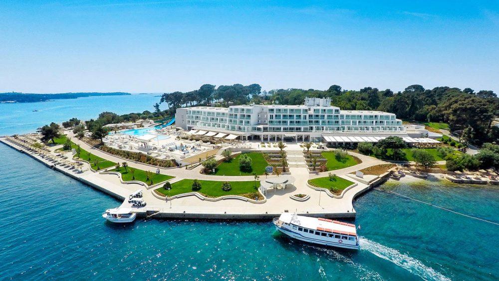 Das 4-Sterne-Valamar Collection Isabella Island Resort befindet sich auf der autofreien Insel Sveti Nikola