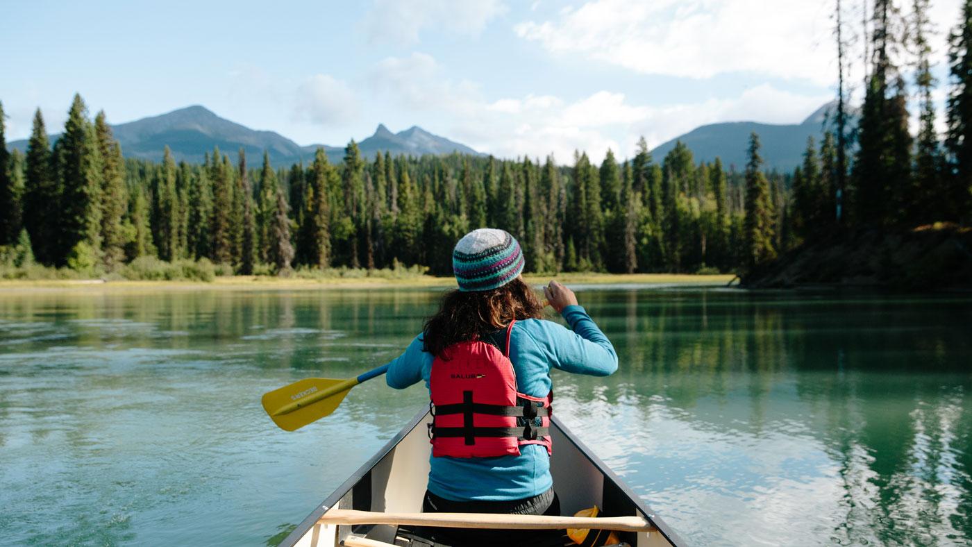 Die Region Cariboo Chilcotin Coast per Kanu entdecken.