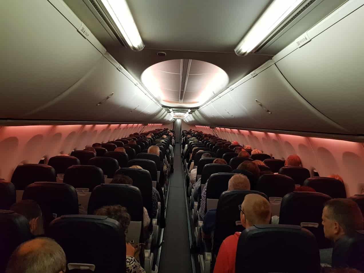 Nachtflug TUI fly Mallorca Hannover