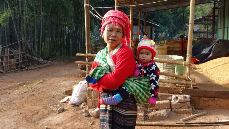 Unsere Gastfamilie in Kalaw
