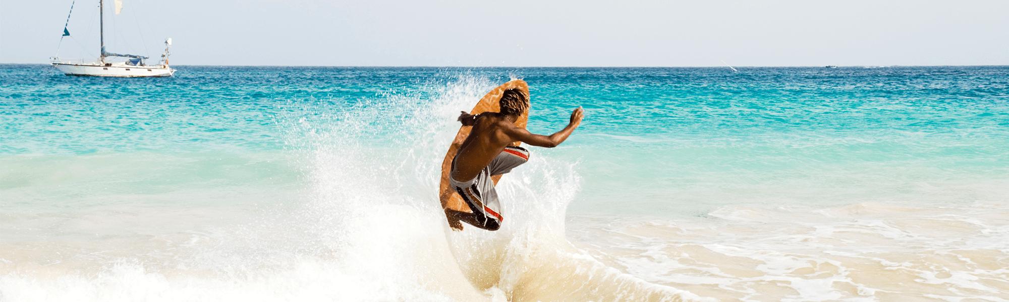 Kapverden Surfer