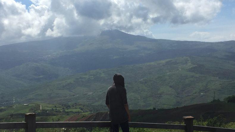 Von hier lassen sich die Ausmaße des Monte Amiata am besten bestaunen.