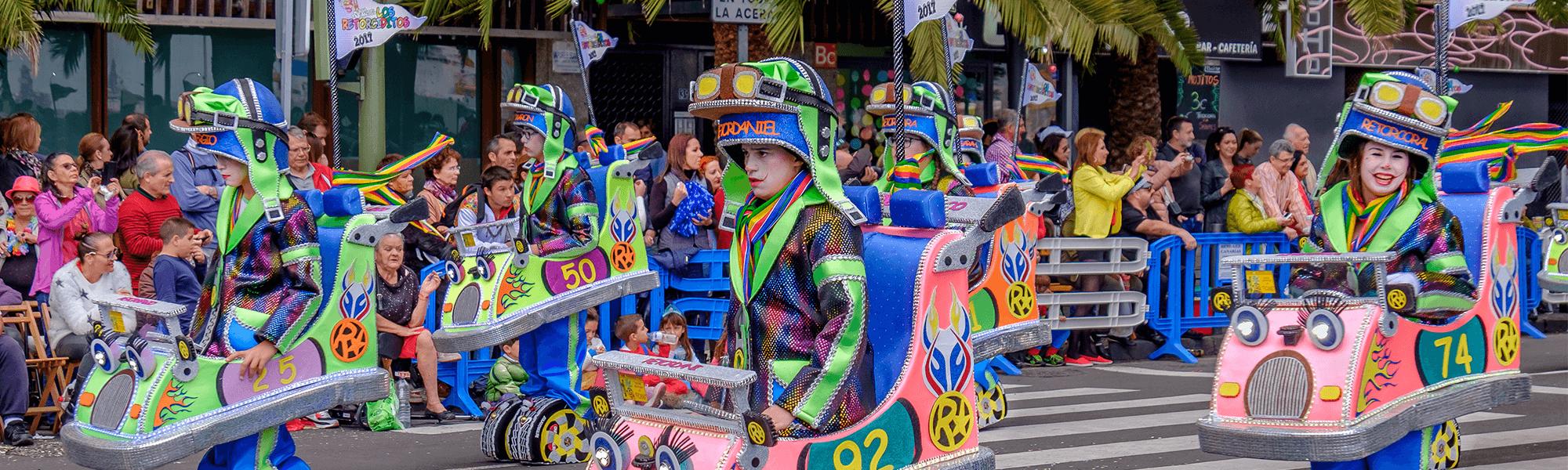 Karneval_Sea front parade Santa Cruz