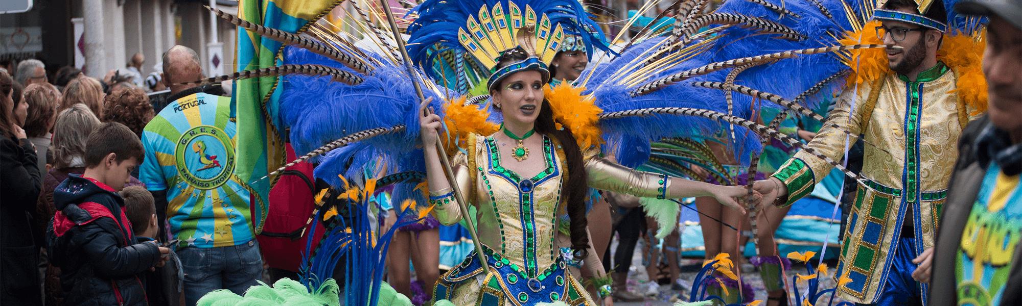 Karneval Parade Portugal