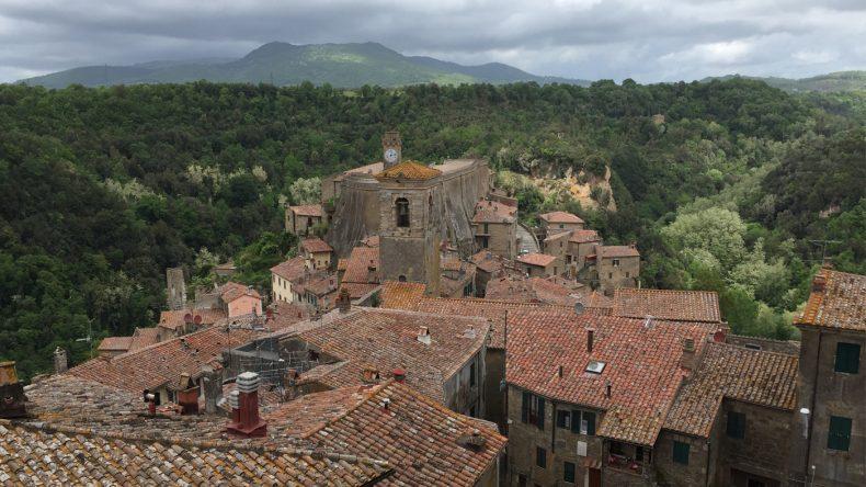 Der Süden ist der grünere und bevölkerungsärmere Teil der Toskana - perfekt für alle Ruhe-Suchende.
