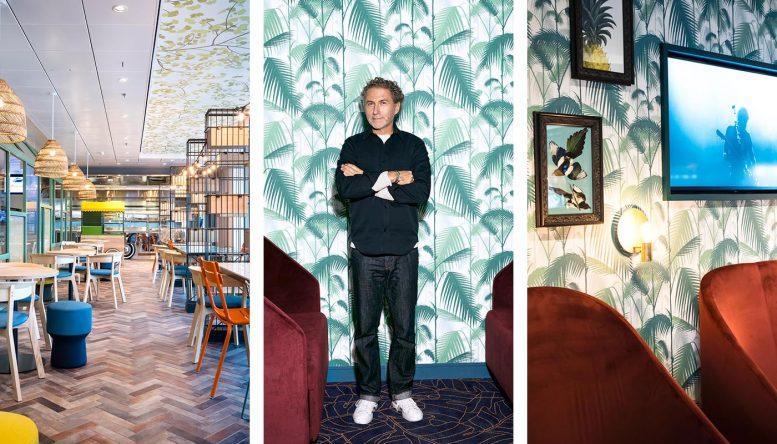 Werner Aisslinger gilt als einer der wichtigsten Designer der Gegenwart. Für Mein Schiff 2 hat er das Tag & Nacht Bistro sowie die Schaubar neu gestaltet.
