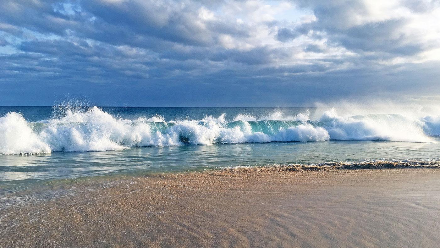Was für Wellen!