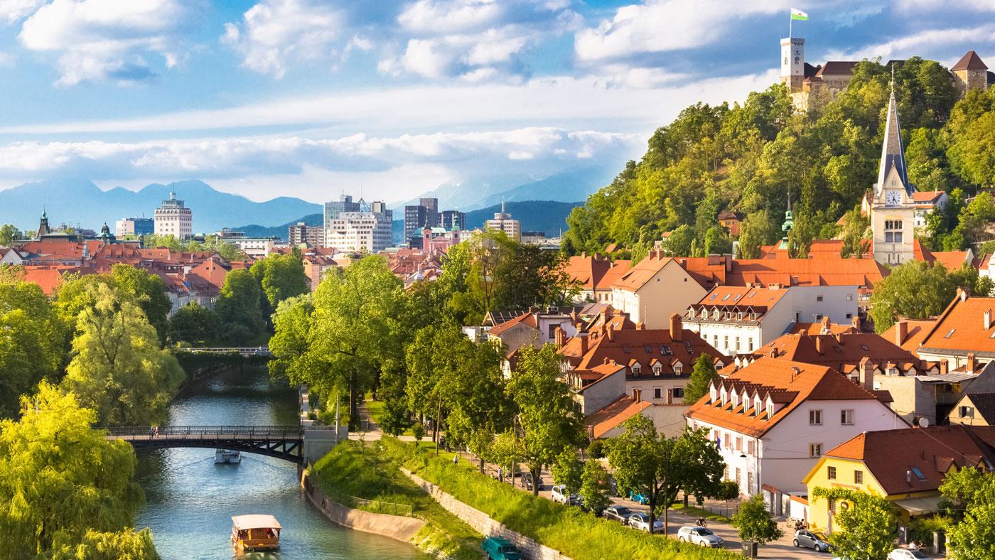 Der fotogene Fluss Ljubljanica