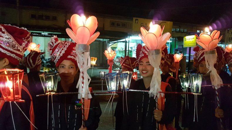 Beim Festival in Kalaw