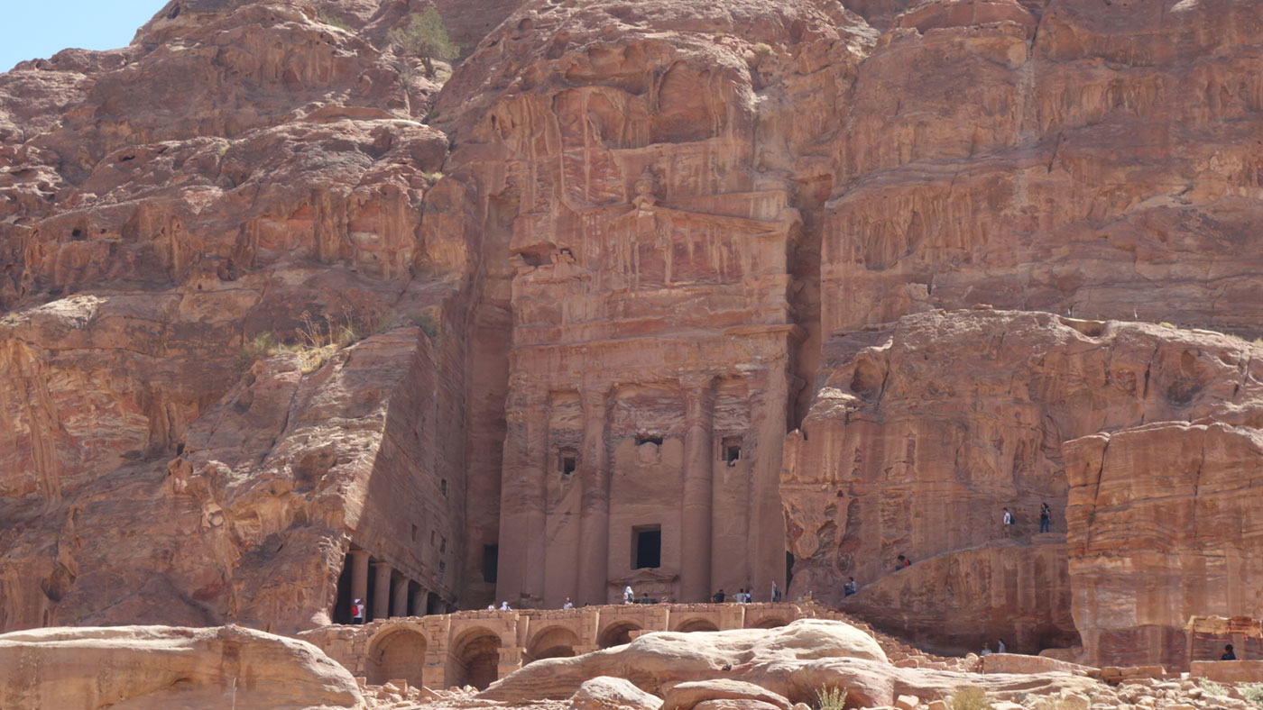 Petra, die Felsenstadt, Jordanien