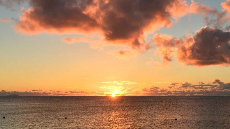 ... und einen 1 Million Dollar Sunset View!