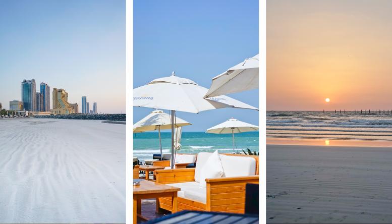Zum kleinsten Emirat Ajman gehört ein rund 16 Kilometer langer Küstenstreifen am Persischen Golf.