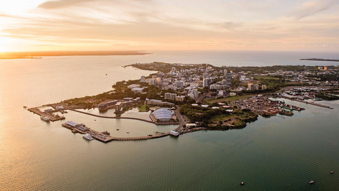 Start ist in Darwin, der Hauptstadt des australischen Bundesterritoriums Northern Territory. (Copyright: Shaana McNaught, Tourism NT)