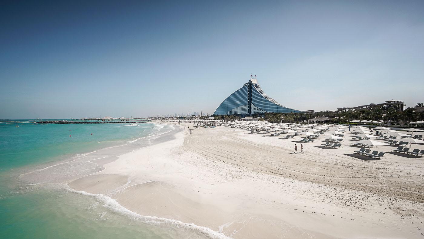Der Jumeirah Beach in Dubai