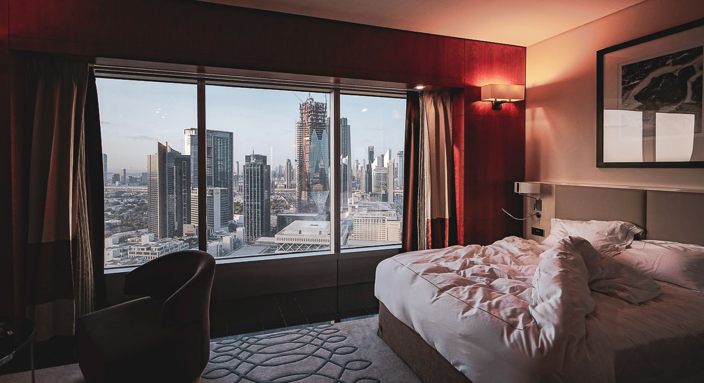 Ein Traum! Mein Zimmer im Jumeirah Emirates Tower