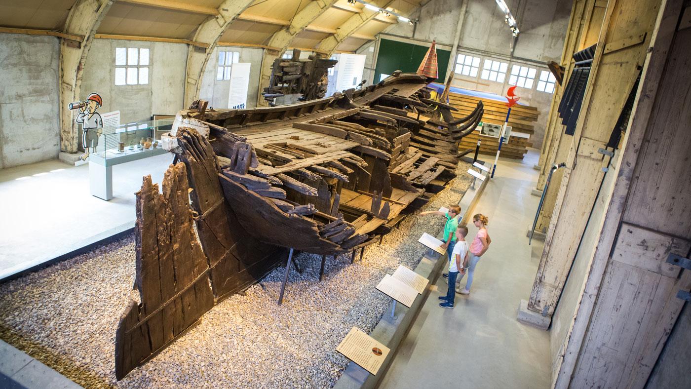 Im interaktiven Museum Batavialand könnt ihr einiges über Flevoland lernen (Copyright: Pluim Fotografie)