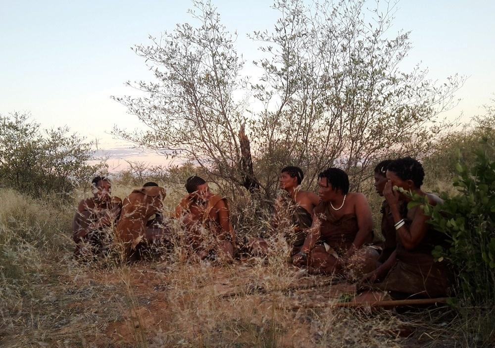 Botswana San-Volk
