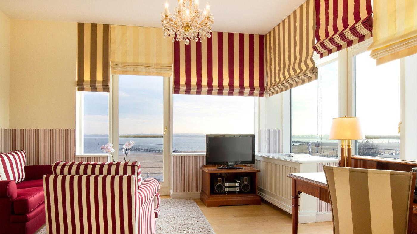 Nehmt euch am besten ein Zimmer mit Blick auf die Ostsee