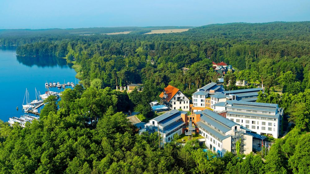 Direkt am Scharmützelsee gelegen: Das Hotel Esplanade Resort und Spa Bad Saarow