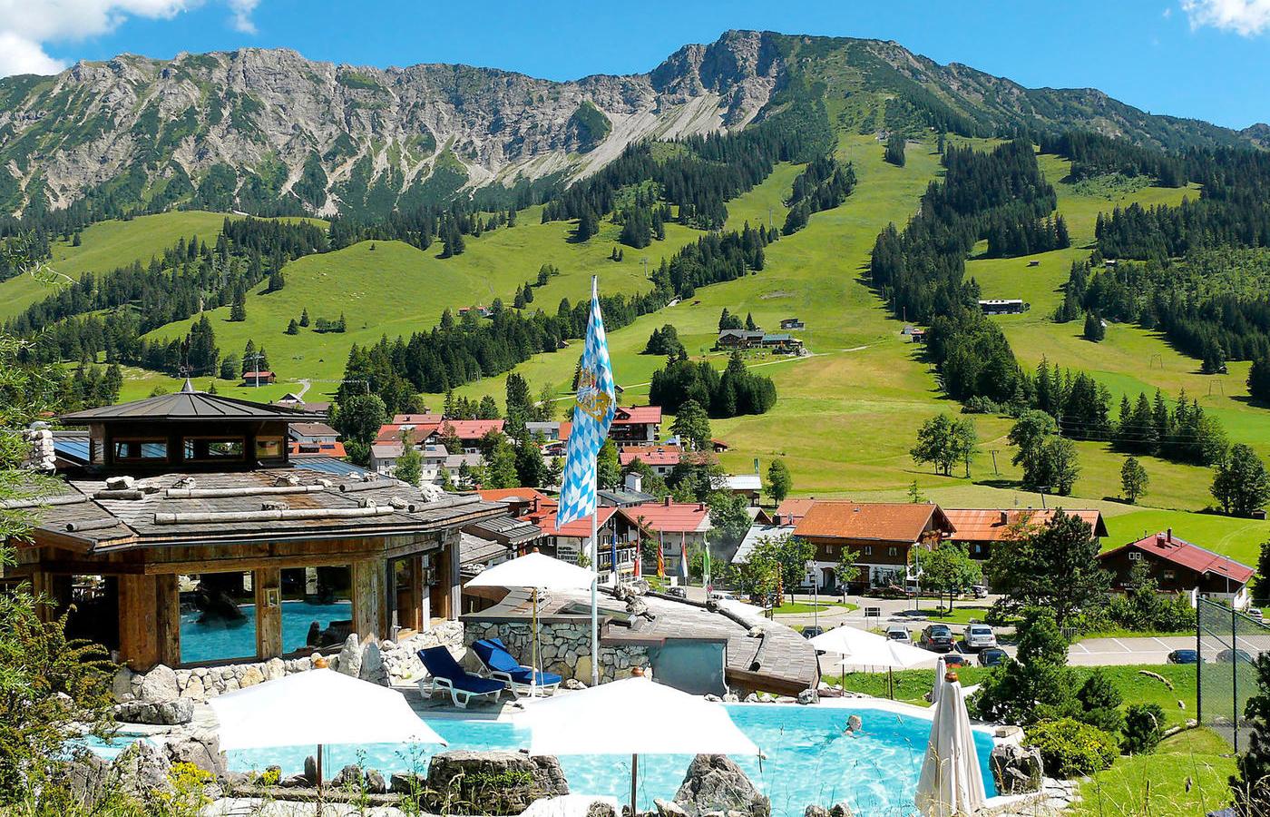 Das Romantik Hotel in Deutschland: Das Hotel Lanig Resort und Spa