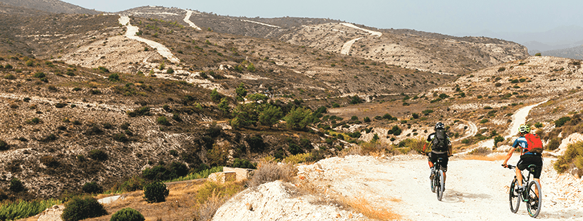 Mountainbike auf Zypern