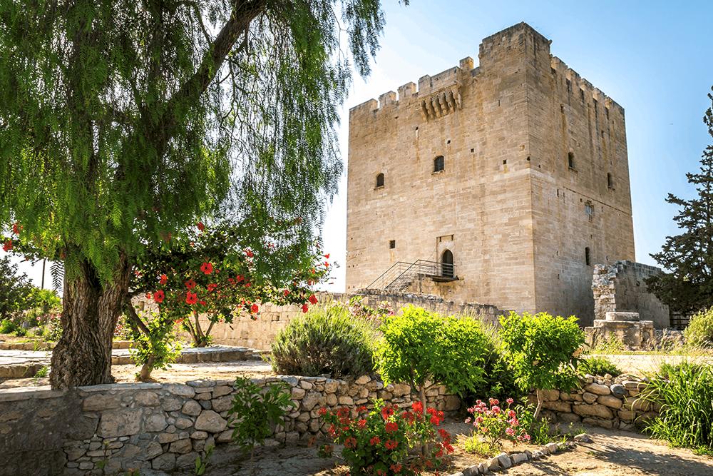 Zypern Burg Kolossi