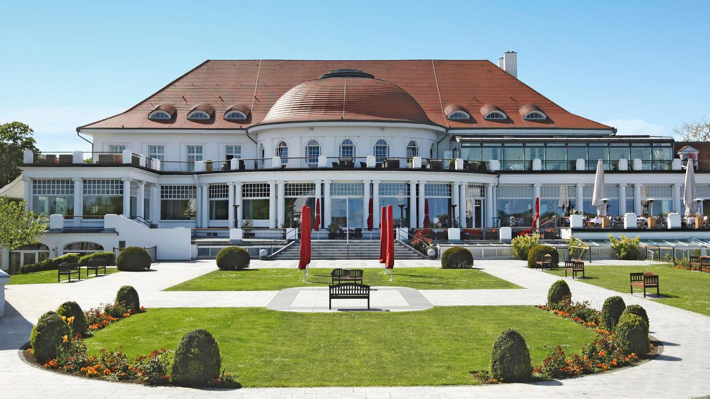 Das 5* ATLANTIC Grand Hotel Travemünde direkt an der Ostsee