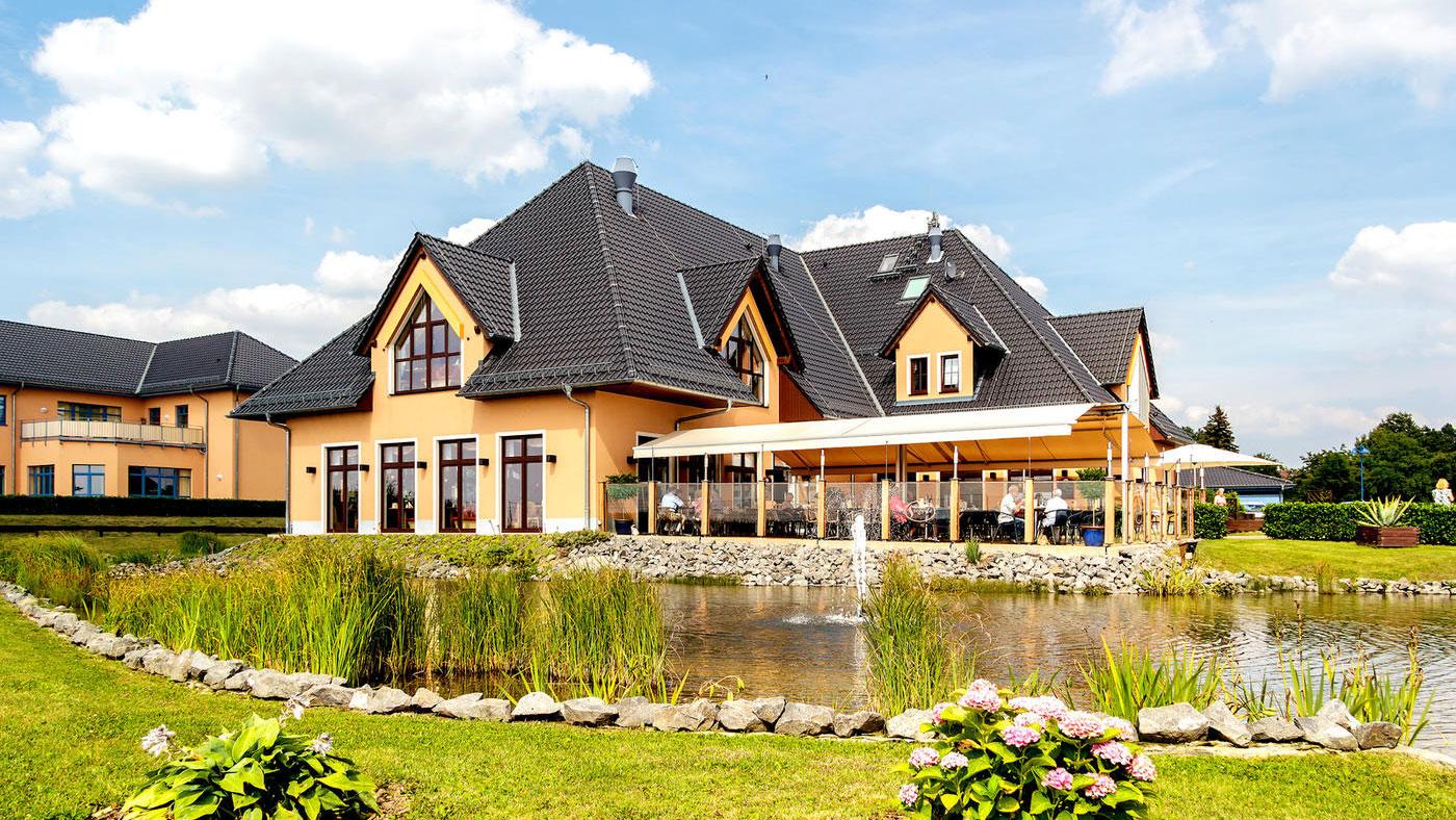 Hübsch am See gelegen, der Seepark Auenhain