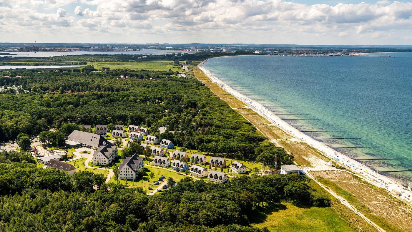 Hier im Strandresort Markgrafenheide könnt ihr bestens entspannen