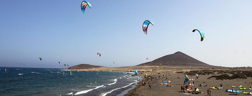 Teneriffa bietet beste Bedingungen zum Kiten und Windsurfen