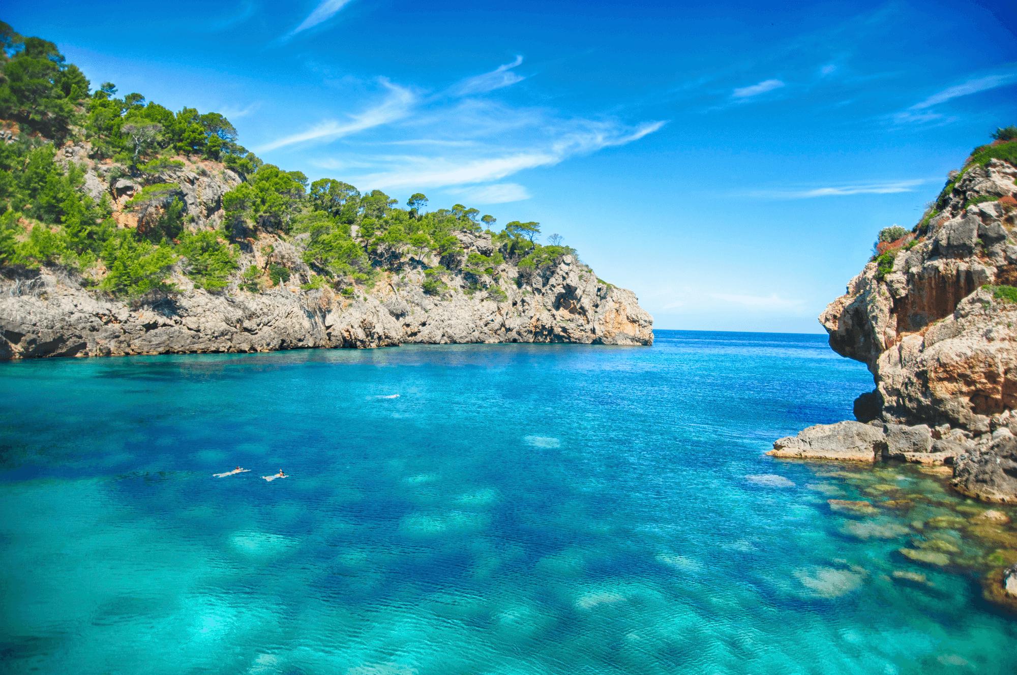 Der Osten Mallorcas bietet eine interessante Küstenlinie mit zahlreichen Buchten
